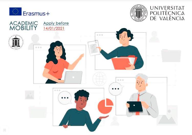 Изображение Конкурс на участие в академической мобильности (Erasmus + KA1) 2020